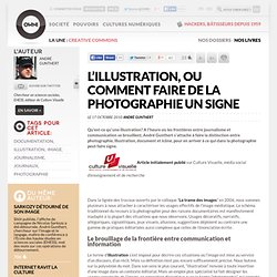 L'illustration, ou comment faire de la photographie un signe