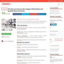 24 sites où trouver des images d'illustration de qualité libres de droits. - Startupeers