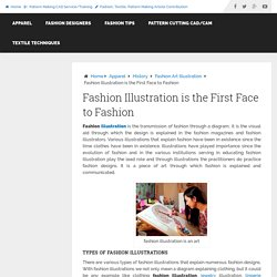 Fashion Illustration is the First Face to Fashion