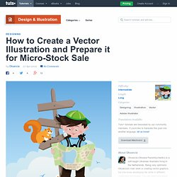 How to Create a Vector Illustration and Prepare it for Micro-Stock Sale