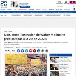Non, cette illustration de Walter Molino ne prédisait pas «la vie en 2022»
