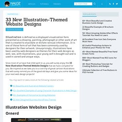 33 New Illustration-Themed Website Designs | Naldz Graphics