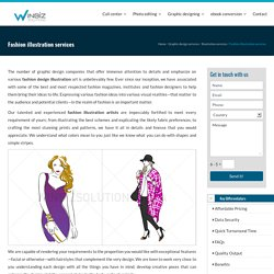 Fashion illustration services