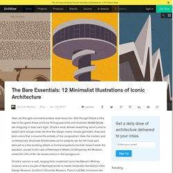 The Bare Essentials: 12 Minimalist Illustrations of Iconic Architecture