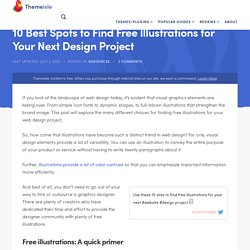 10 Best Spots to Find Free Illustrations for Your Next Design Project