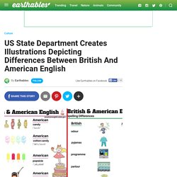 US State Department Creates Illustrations Depicting Differences Between Briti...