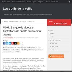 Mixkit. Banque de vidéos et illustrations de qualité entièrement gratuite