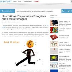 Illustrations d'expressions Françaises familières et imagées