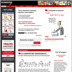 Dessins de presse - Illustrations : ICONOVOX - Source d'iconographie
