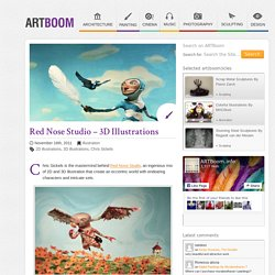 Red Nose Studio - 3D Illustrations
