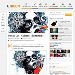 Minjae Lee – Colorful Illustrations | Illustration