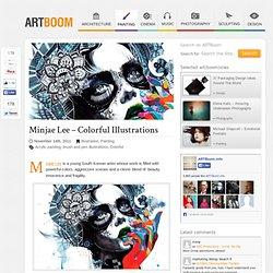 Minjae Lee – Colorful Illustrations | Illustration