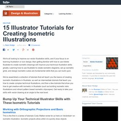 15 Illustrator Tutorials for Creating Isometric Illustrations