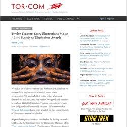 Twelve Tor.com Story Illustrations Make it Into Society of Illustrators Awards