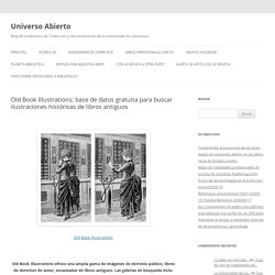 Old Book Illustrations: base de datos gratuita para buscar ilustraciones históricas de libros antiguos