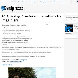 20 Amazing Creature Illustrations by Imaginism