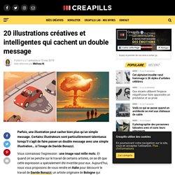 20 illustrations créatives et intelligentes qui cachent un double message
