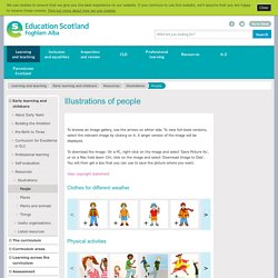 People - Illustrations - Learning and teaching