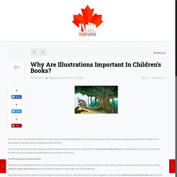 Why Are Illustrations Important In Children's Books? – Maplepress
