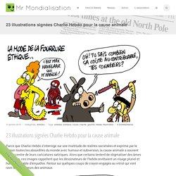 23 illustrations signées Charlie Hebdo pour la cause animale