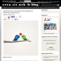 30 illustrations vectorielles personnalisables à télécharger gratuitement