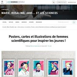 Posters, cartes et illustrations de femmes scientifiques pour inspirer les jeunes !