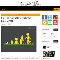 25 Hilarious Illustrations by Glennz