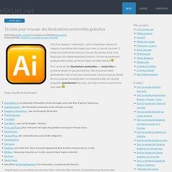 16 sites pour trouver des illustrations vectorielles gratuites -