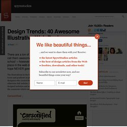 Web-Design Trends: 40 Illustrative Website Designs