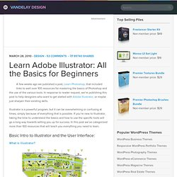 Learn Adobe Illustrator: All the Basics for Beginners | Vandelay Design Blog