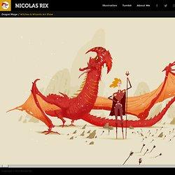 Nicolas Rix - Illustrator, Character Designer, Comic Book Artist