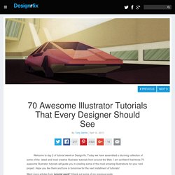 70 Awesome Illustrator Tutorials That Every Designer Should See