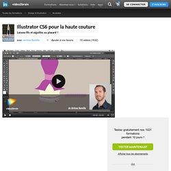 Illustrator CS6 pour la haute couture-Illustrator