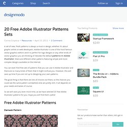 20 Free Adobe Illustrator Patterns Sets