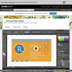Watch the Online Video Course Illustrator CS6 Essential Training
