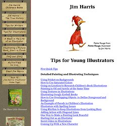Advice for Students About Illustrating Children's Picture Books