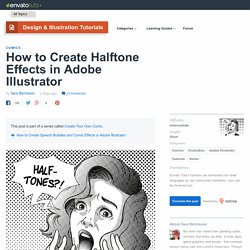 How to Create Halftone Effects in Adobe Illustrator - Envato Tuts+ Design & Illustration Tutorial