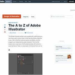 The A to Z of Adobe Illustrator