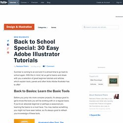 Back to School Special: 30 Easy Adobe Illustrator Tutorials