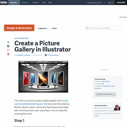Create a Picture Gallery in Illustrator