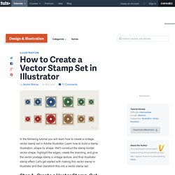How to Create a Vector Stamp Set in Illustrator
