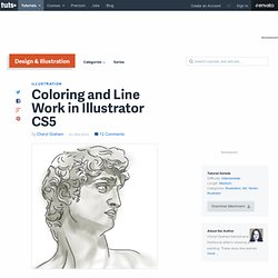 Coloring and Line Work in Illustrator CS5