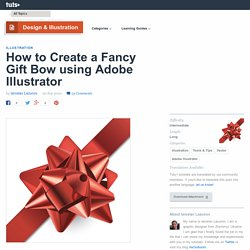 How to Create a Fancy Gift Bow using Adobe Illustrator