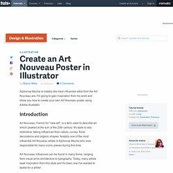 Create an Art Nouveau Poster in Illustrator