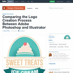Comparing the Logo Creation Process Between Adobe Photoshop and Illustrator