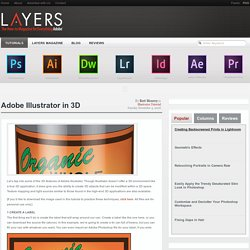 Adobe Illustrator in 3D