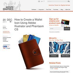 How to Create a Wallet Icon Using Adobe Illustrator and Phantasm CS