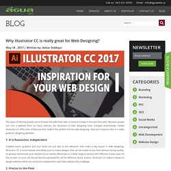 Why Illustrator CC is really great for Web Designing?