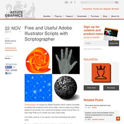 Free and Useful Adobe Illustrator Scripts with Scriptographer