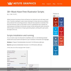 30+ Must-Have Free Illustrator Scripts - Astute Graphics